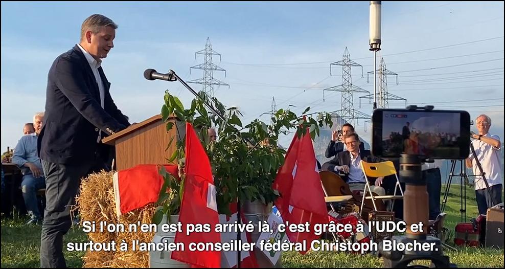 1er août : la «déclaration de guerre» du président de l'UDC contre la gauche caviar et les bobos hélvétiques