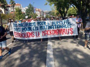 271 manifestations contre le passeport sanitaire et les piqures obligatoires pour les professions concernées: un 8e succès d'affilée!