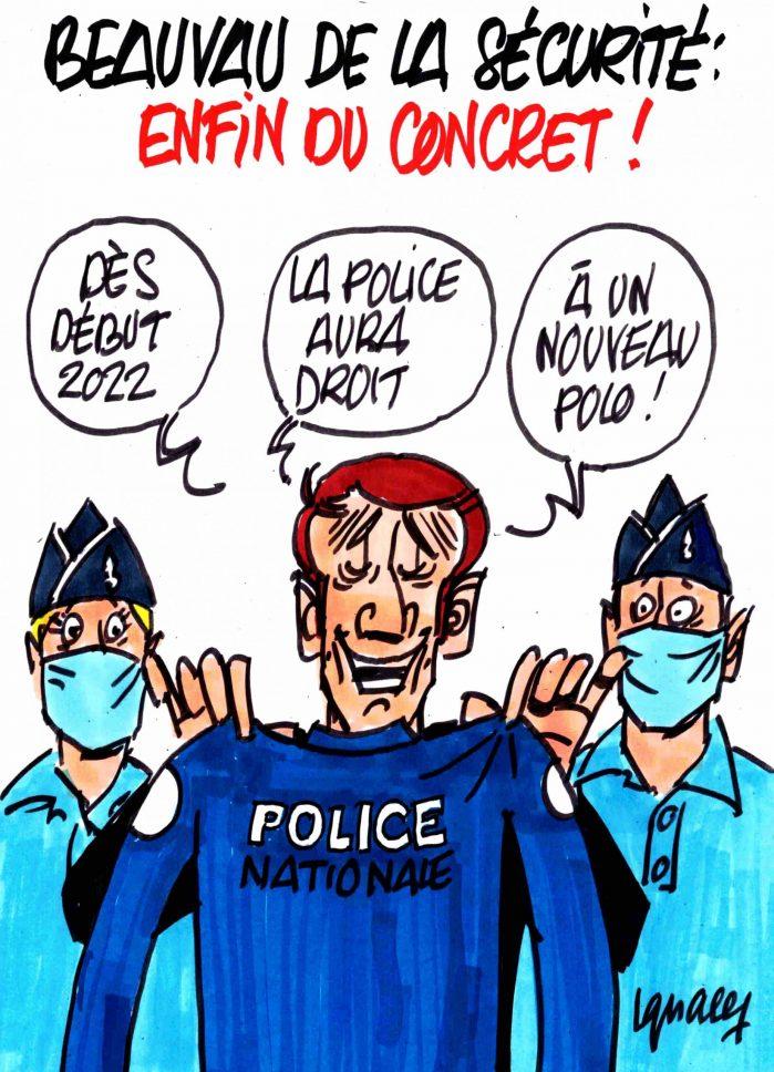 Ignace - Beauvau de la sécurité : enfin du nouveau !