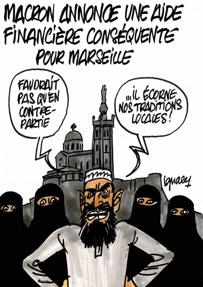 Ignace - Macron annonce une aide conséquente pour Marseille