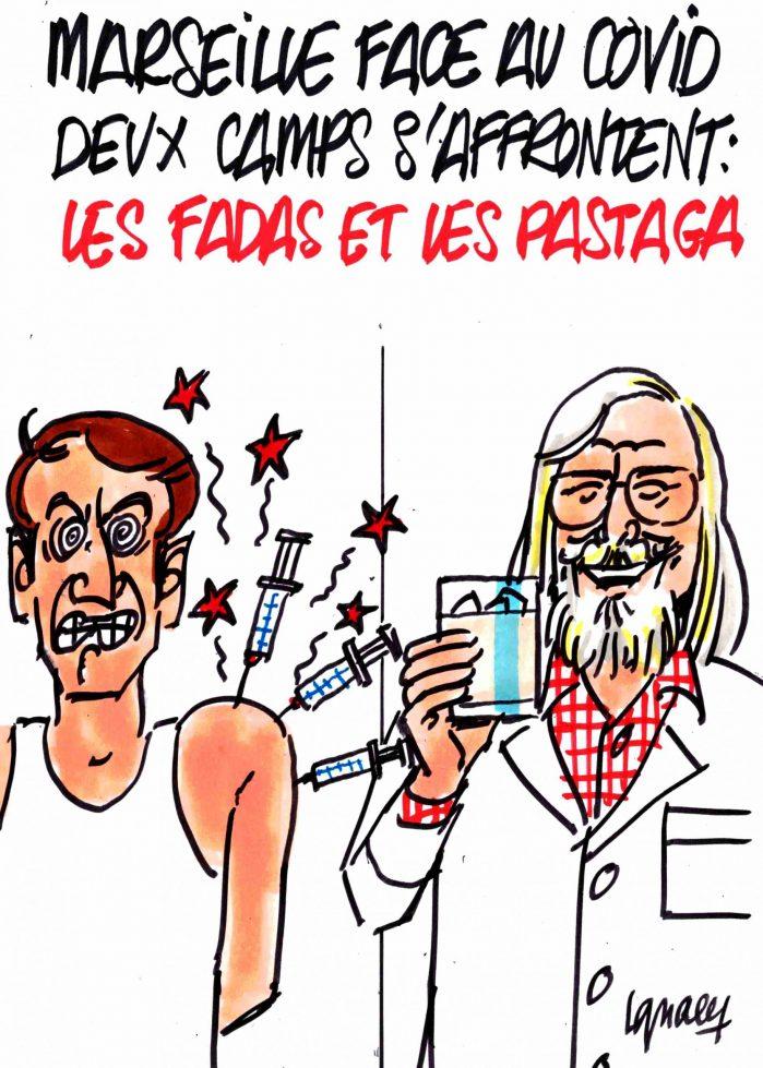 Ignace - Deux camps s'affrontent à Marseille