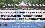 4 et 5 septembre 2021 : Journées Chouannes à Chiré