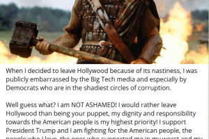 Mel Gibson, Denzel Washington et Sylvester Stallone encouragent à défendre leur pays contre leur gouvernement !