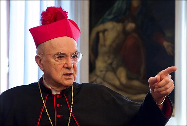 Transcription des 18 entretiens vidéos de Mgr Viganò avec Robert Moynihan de Inside the Vatican Magazine