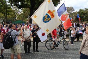 Civitas appelle ses sympathisants parisiens à se regrouper à 14h pour la manifestation contre la dictature sanitaire