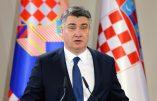 Le président croate déclare à la télévision que ceux qui ne veulent pas se faire vacciner ne constituent pas une menace et qu'il faut tourner la page