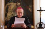 Vidéo message de Mgr Viganò à l'occasion d'une manifestation organisée par l'association «No Paura Day» à Turin